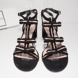 kate spade Shoes - Kate Spade High Heels Sandals T Strap Bow